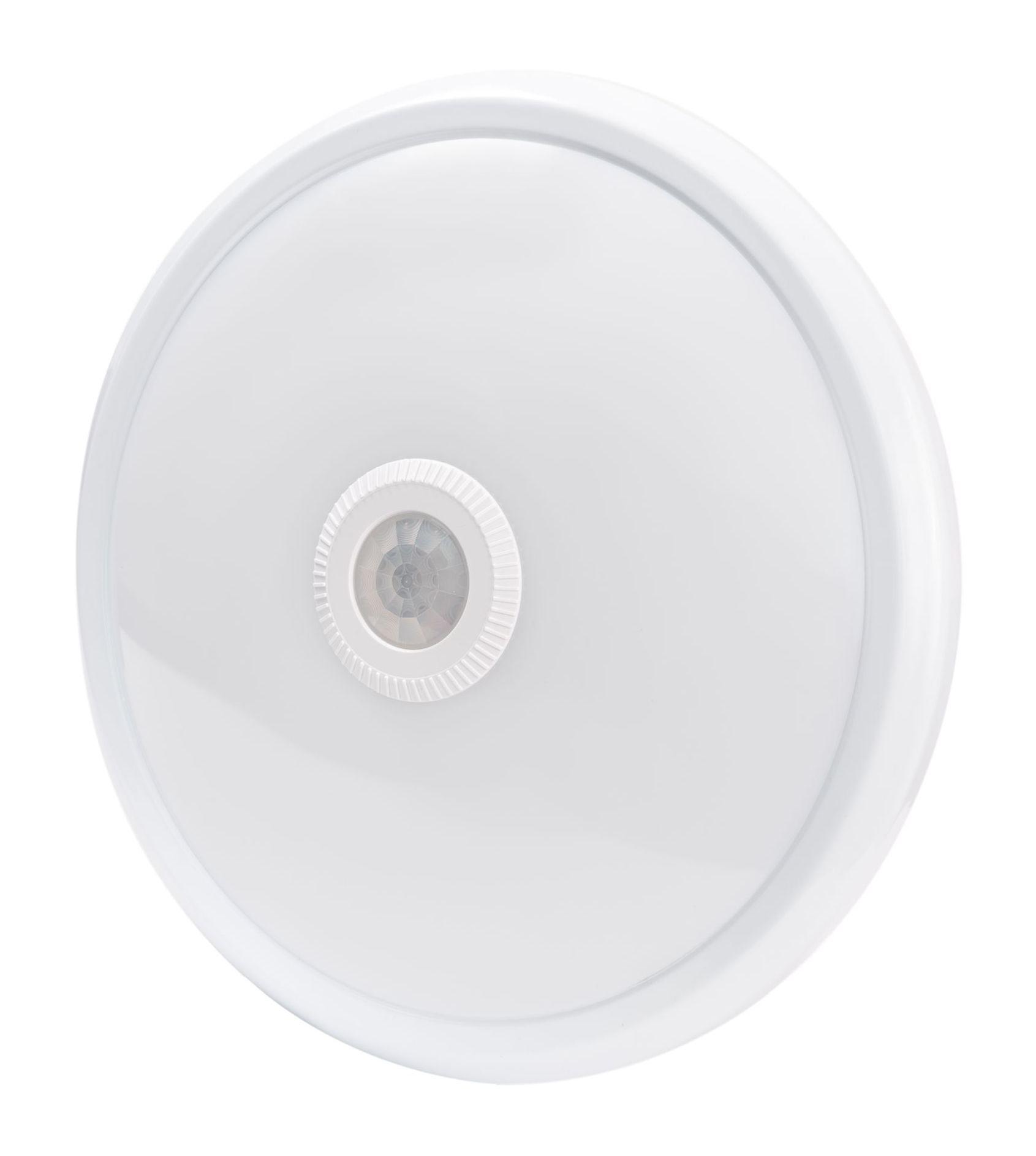 LED Solution LED stropní/nástěnné svítidlo 16W - nouzový modul + PIR čidlo