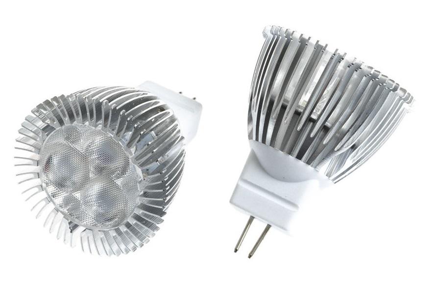 T-LED LED žárovka MR11 - 1,5W 60° Barva světla: Studená bílá