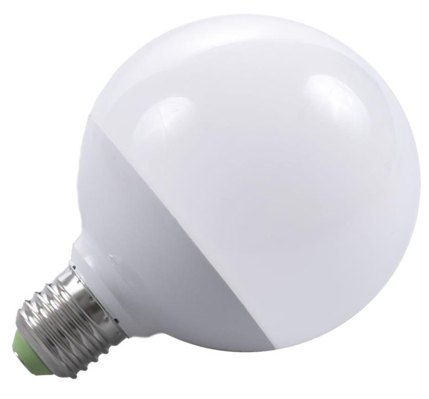 T-LED LED žárovka 12W E27 260° Barva světla: Studená bílá