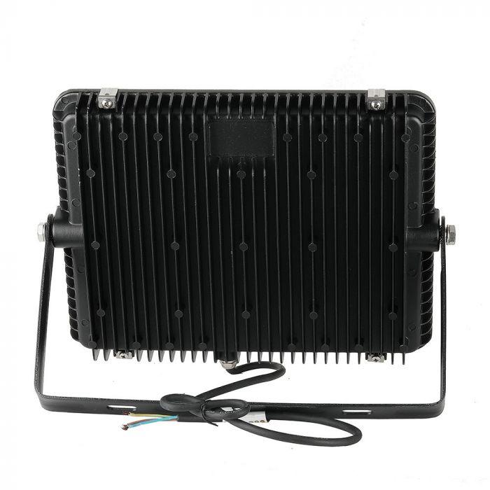LED Solution Černý LED reflektor 150W Barva světla: Teplá bílá