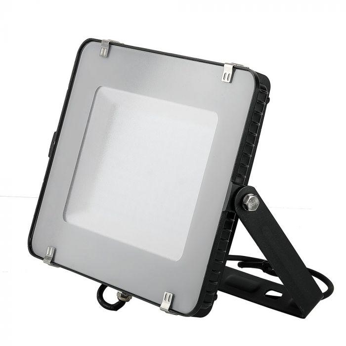 LED Solution Černý LED reflektor 150W Premium Barva světla: Teplá bílá