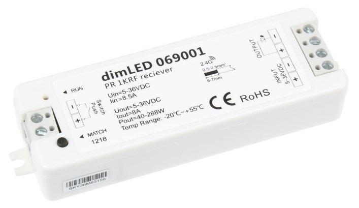 T-LED Přijímač dimLED 1-kanálový 069001
