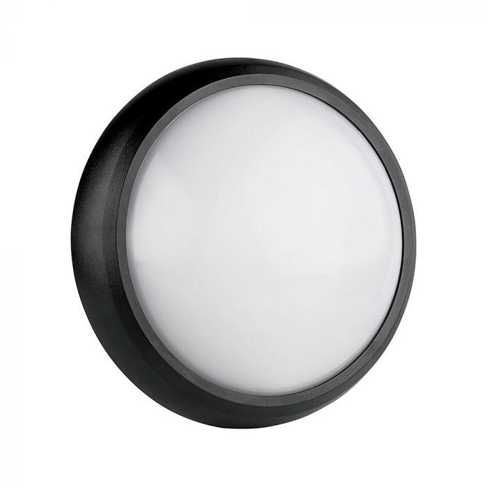 LED Solution Černé LED stropní/nástěnné svítidlo 8W IP66 1260