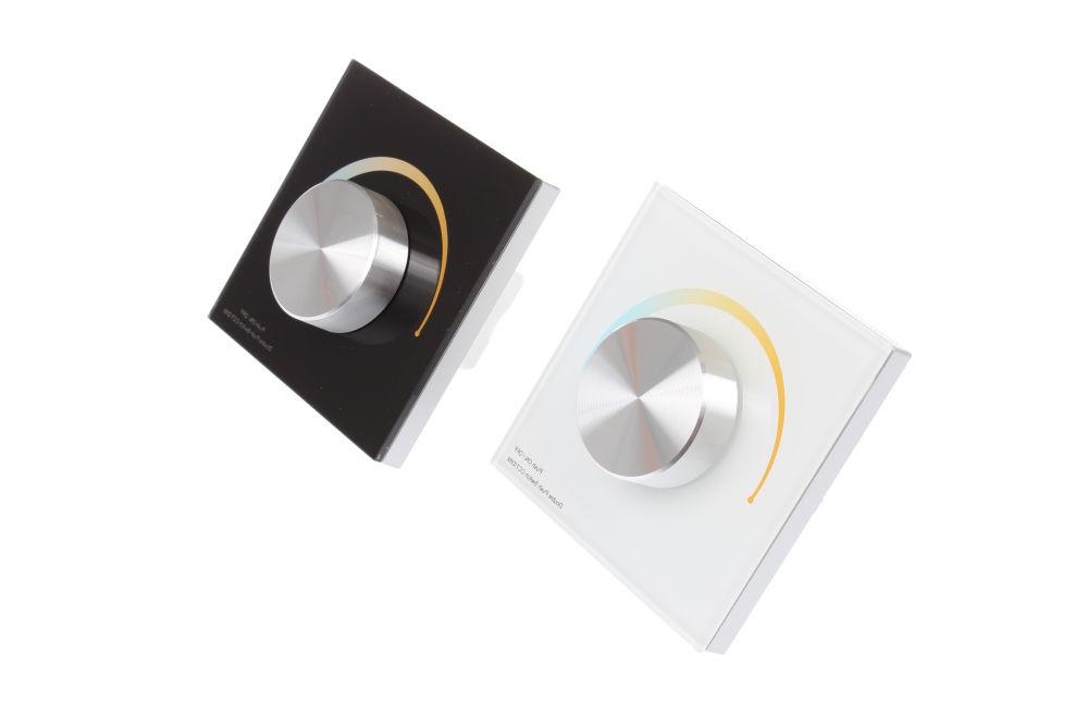 Levně T-LED Nástěnný Ovladač dimLED CCT Barva:: bílá 069118