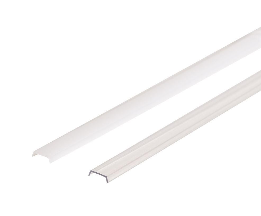 LED Solution Násuvný difuzor pro profil R2 Vyberte variantu a délku: Čirý kryt 1m 09107