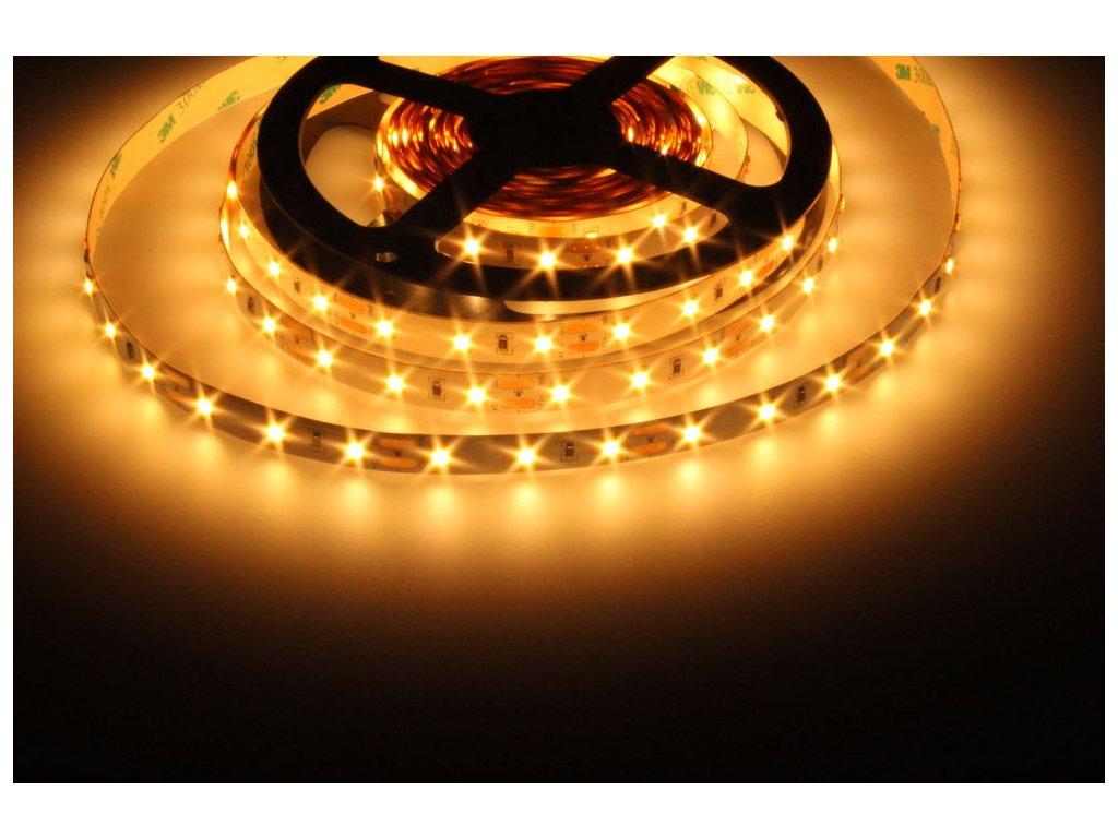 LED Solution LED pásek 12W/m 12V bez krytí IP20 Barva světla: Extra teplá bílá 07700