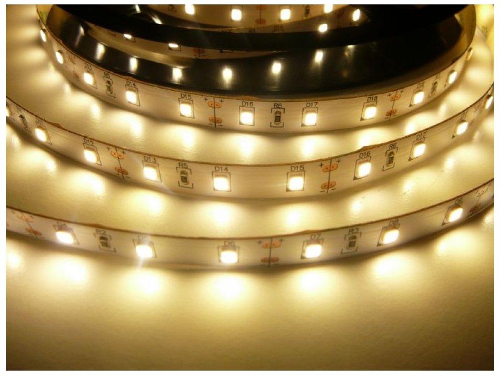 LED Solution LED pásek 12W/m 12V bez krytí IP20 Barva světla: Teplá bílá 07701