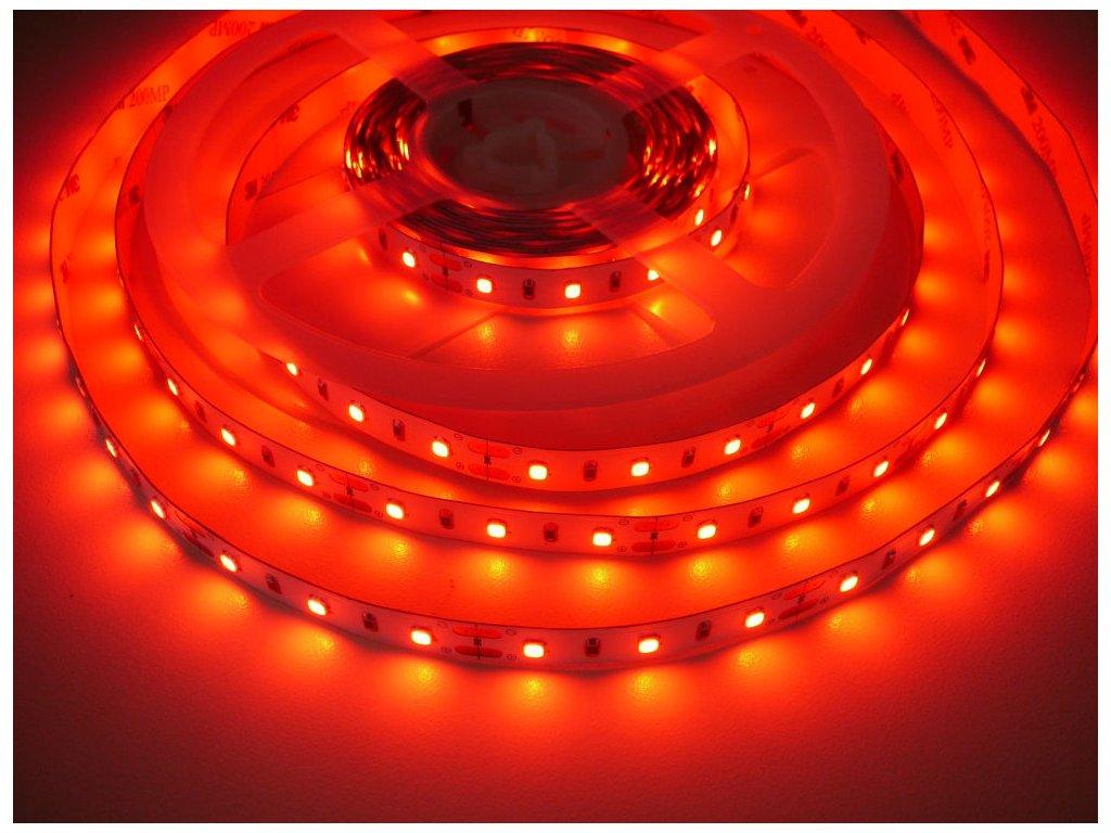 LED Solution LED pásek 12W/m 12V bez krytí IP20 Barva světla: Červená 07708