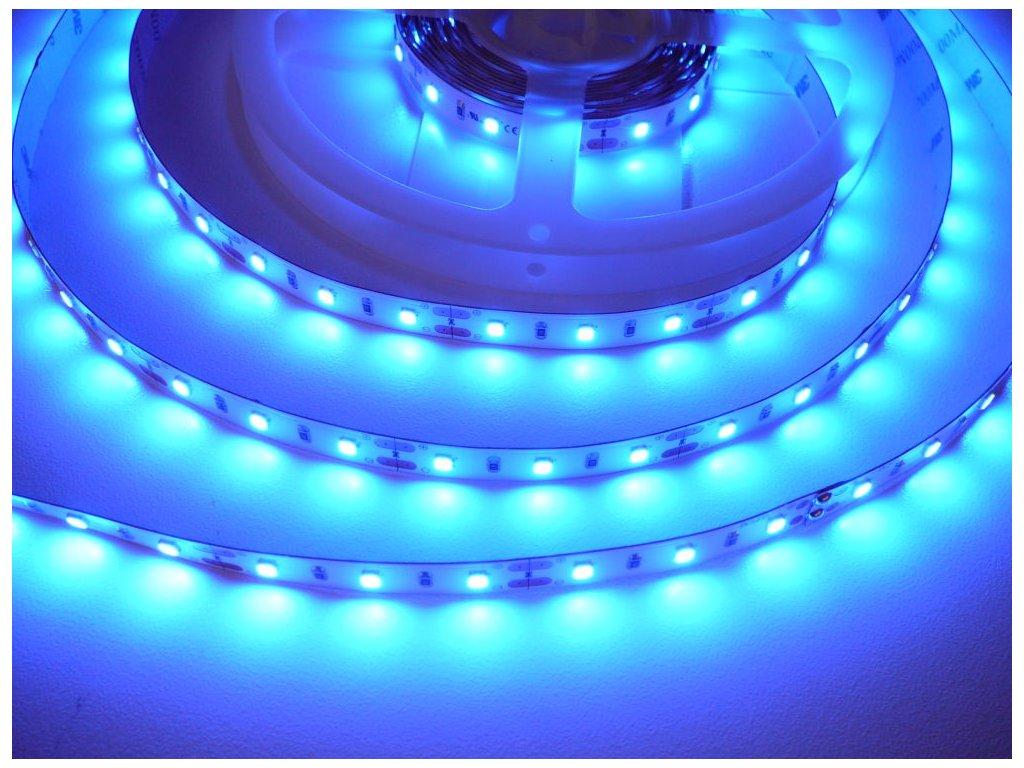 LED Solution LED pásek 12W/m 12V bez krytí IP20 Barva světla: Modrá 07710