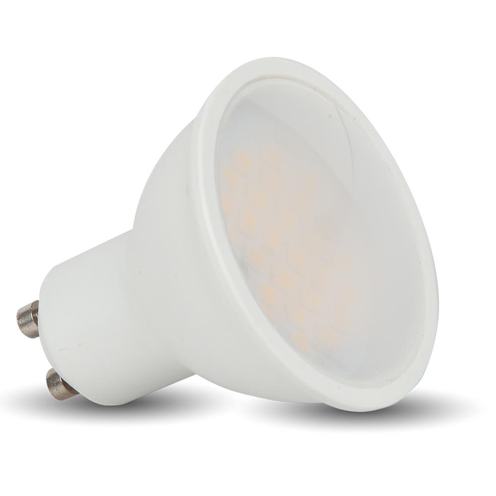 T-LED LED bodová žárovka 5W GU10 230V - POSLEDNÍ KUSY Barva světla: Teplá bílá