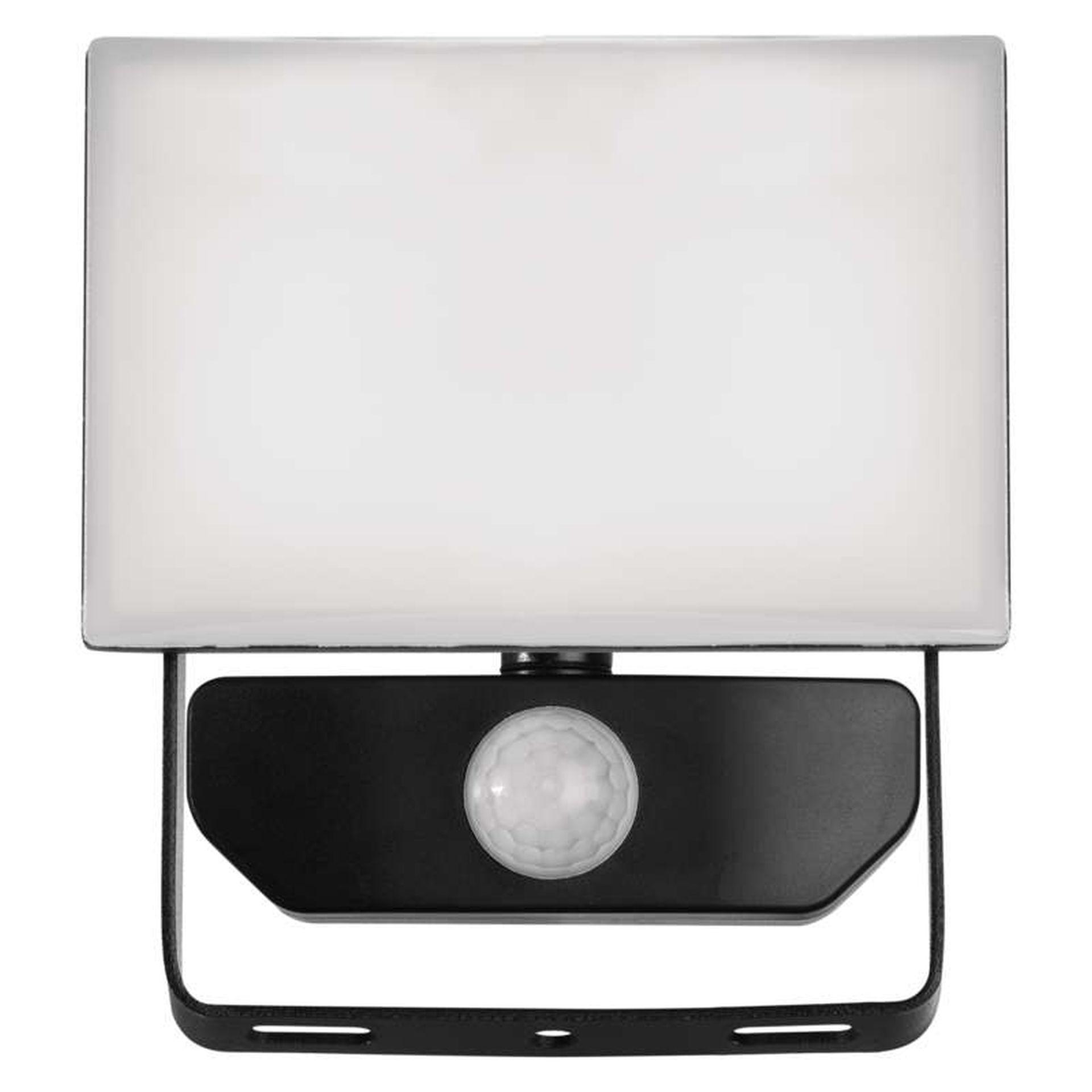 EMOS Bezrámečkový LED reflektor 10W s pohybovým čidlem