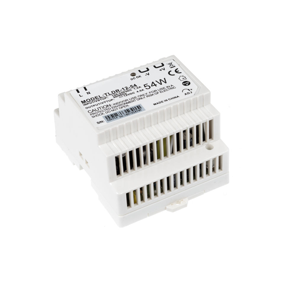 Levně T-LED LED zdroj na DIN lištu 12V 54W