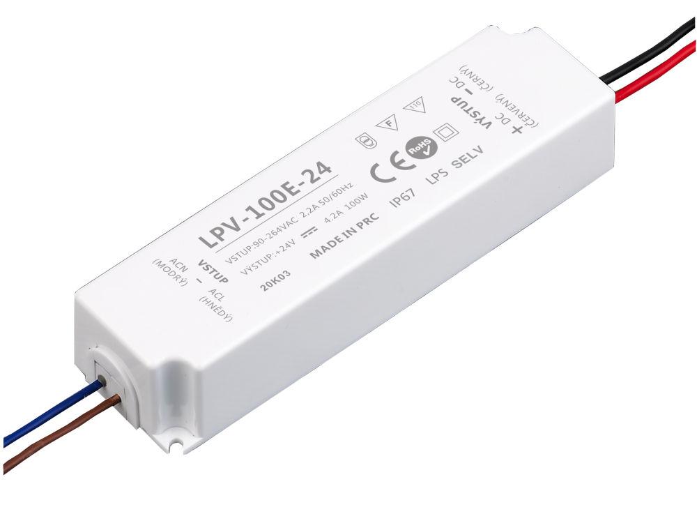 T-LED LED zdroj (trafo) 24V 100W IP67