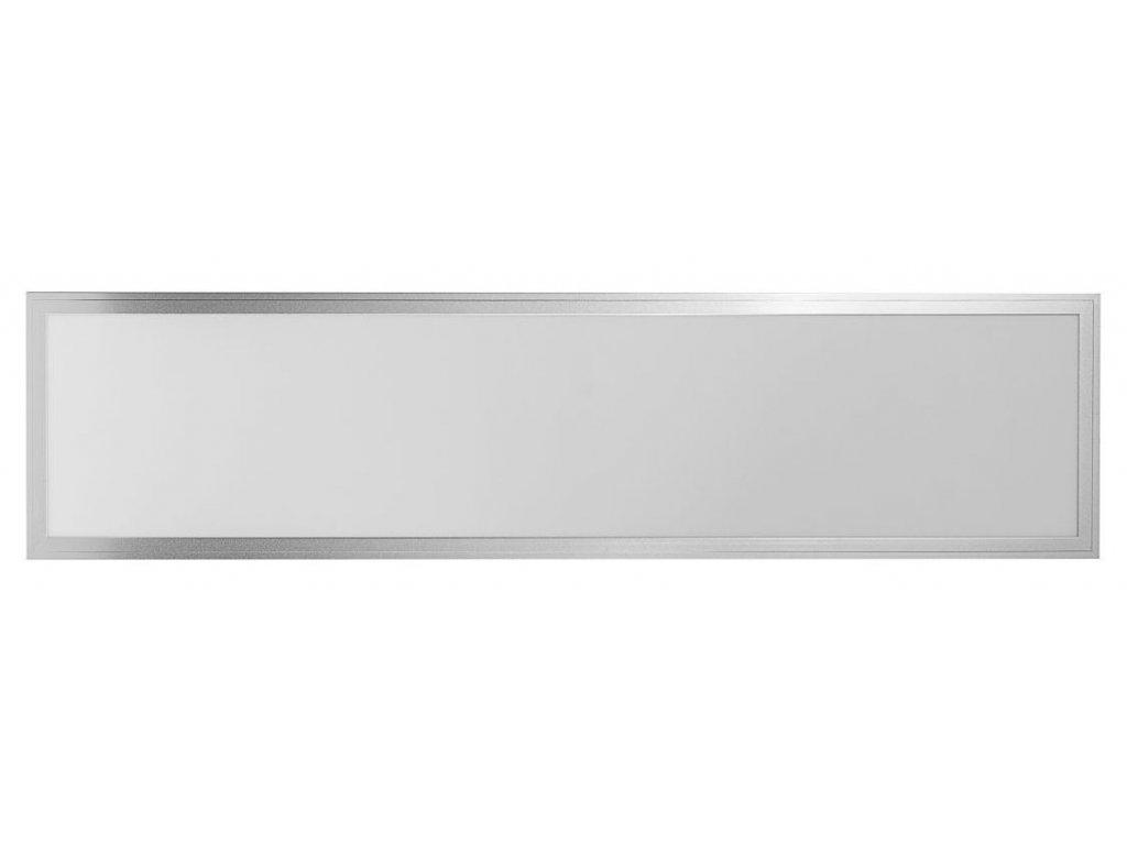 LED Solution Stříbrný podhledový LED panel 300 x 1200mm 40W Premium Barva světla: Teplá bílá