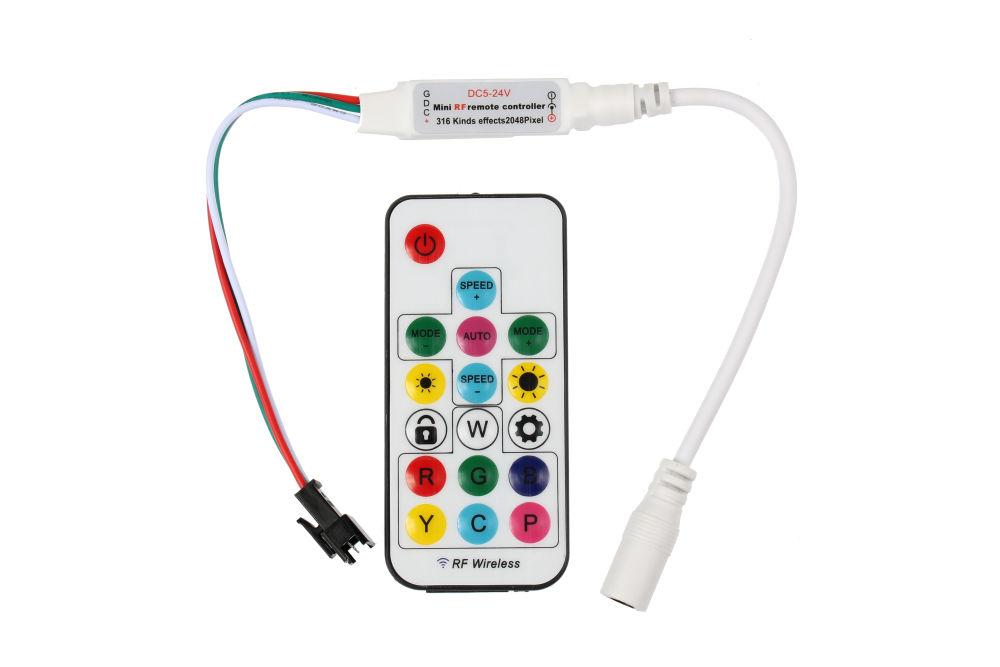 T-LED RGB digitální RF ovladač