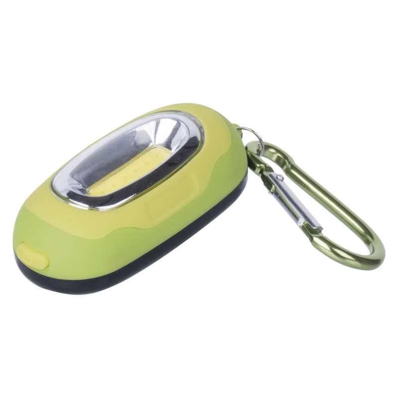 EMOS LED přívěšek na klíče s karabinkou - zelená P3387