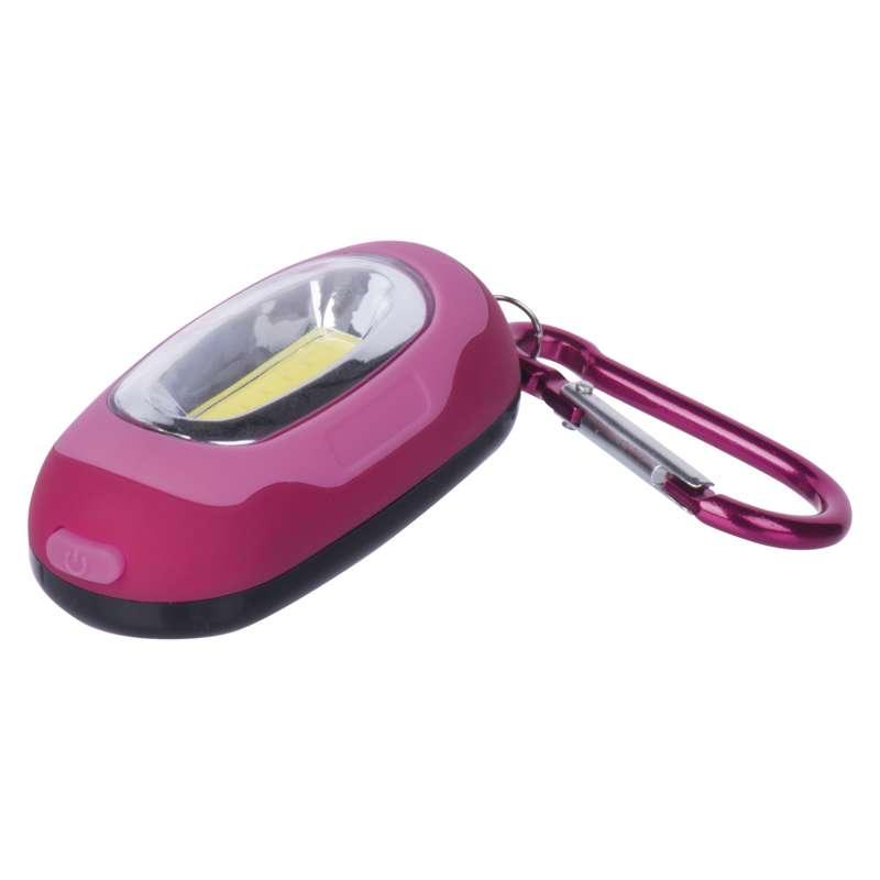 EMOS LED přívěšek na klíče s karabinkou - vínová P3387