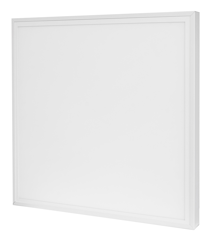 LED Solution Bílý přisazený LED panel s rámečkem 600 x 600mm 40W Premium - LEHCE POŠKOZENÝ Barva svě