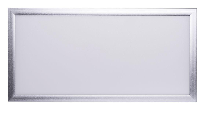 LED Solution Stříbrný závěsný LED panel 300 x 600mm 24W Premium Barva světla: Denní bílá