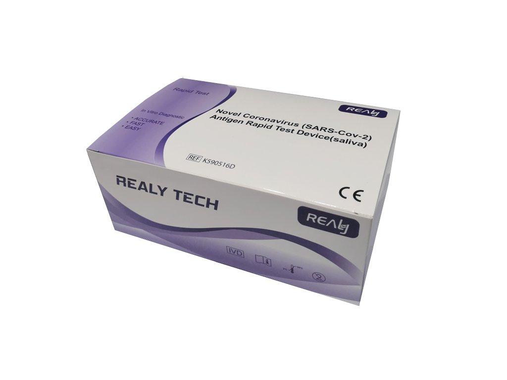 LED Solution SARS-COV-2 antigenní rychlotesty ze slin sada 20ks 55Kč/test