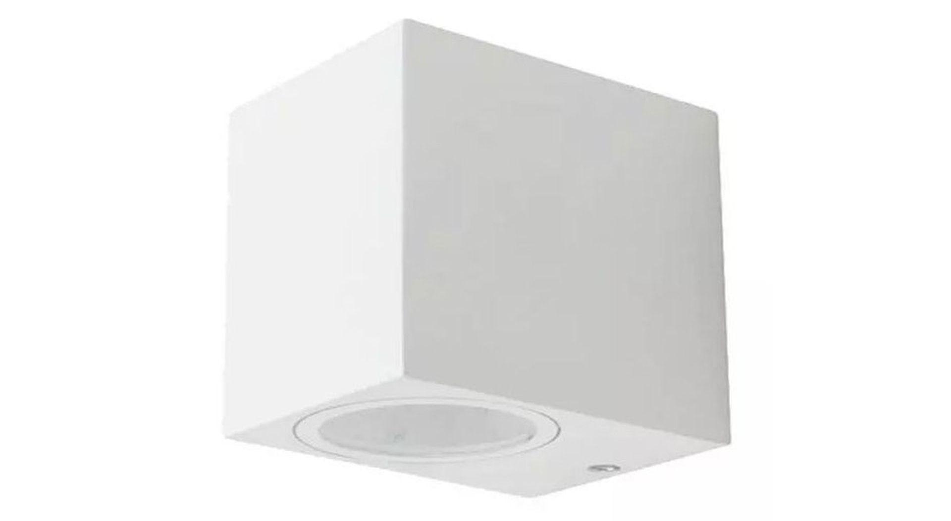 Levně LED Solution Bílé fasádní svítidlo hranaté GU10 7539