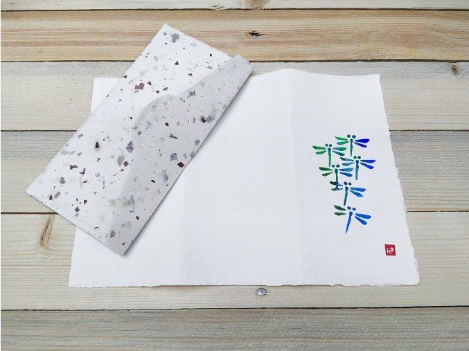 Přání SUIKO - vzor vážky