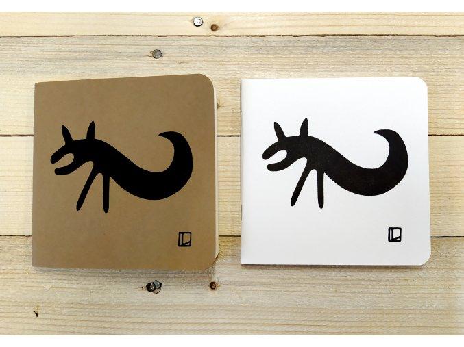 Sešit 14,5x14,5 cm - Lhotský ART - ještěr