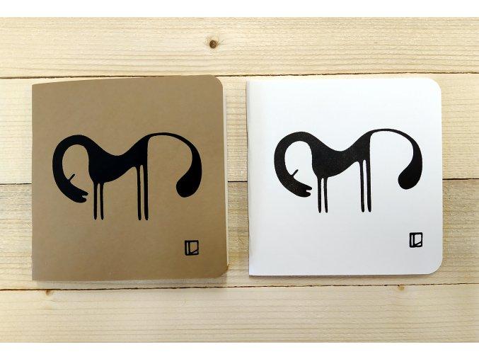 Sešit 14,5x14,5 cm - Lhotský ART - kůň