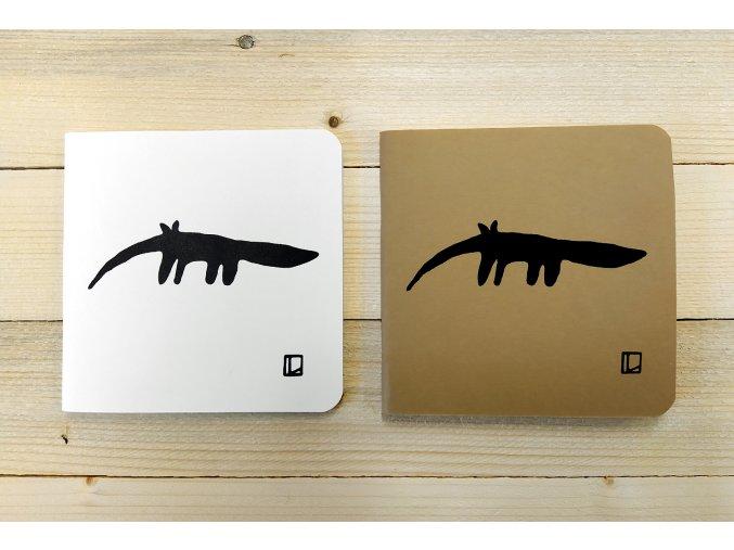 Sešit 14,5x14,5 cm - Lhotský ART - mravenečník