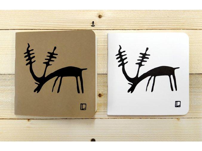 Sešit 14,5x14,5 cm - Lhotský ART - sob