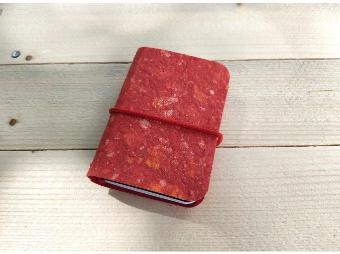 """""""MIMI"""" kreativní deník, 4 sešitky, ruční papír"""