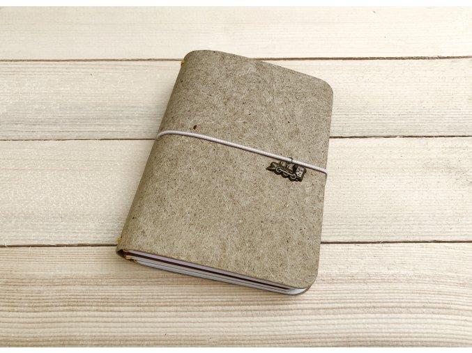 Kreativní deníky A6, MALAI, desky Indigo tmavá