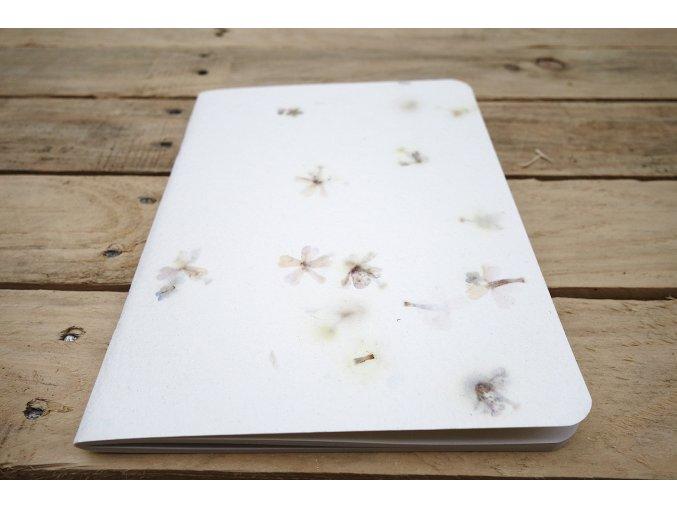 Vzor ručního papíru bavlna