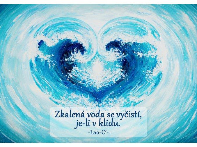 "Luisa ART - kroužkový blok ""voda"""