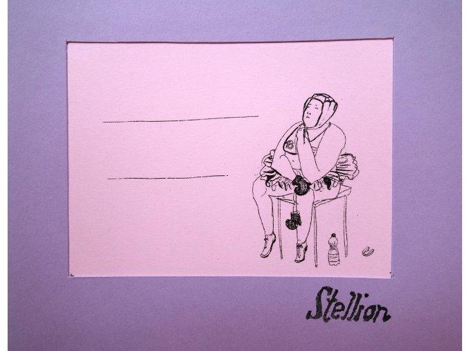Detail kresby - řada Stellion
