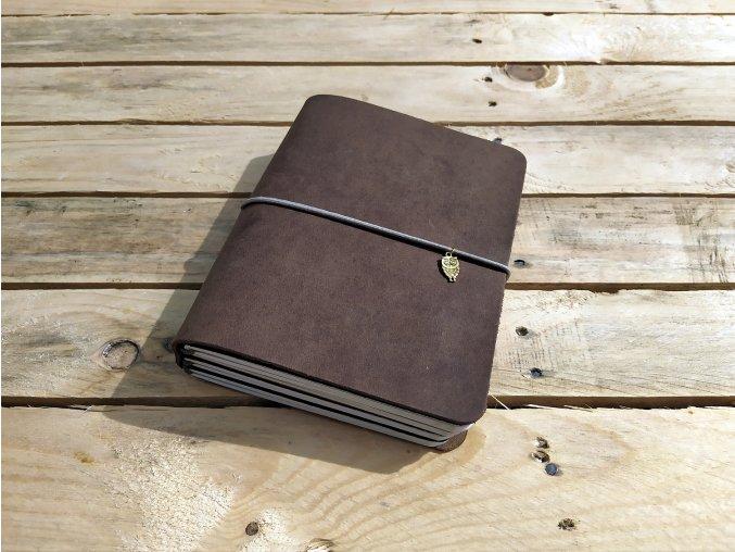 Robert Vano kožený deník