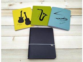 Hudební kreativní deník ANTALIS, 3 sešity
