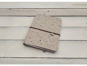 Kreativní deník ruční papír, vzor jablko