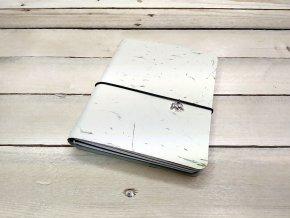 Kreativní deník ruční papír, barevný vzor tráva