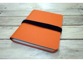 Desky barvy oranžová