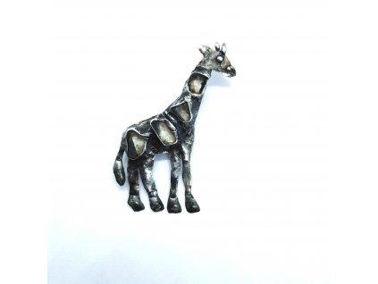 Brož - žirafa