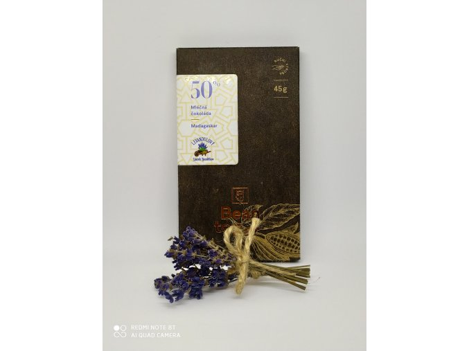 Levandulová čokoláda od Janka