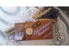 Levandulová čokoláda