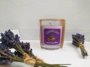 Levandulová svíčka