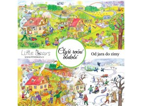 puzzle Čtyři roční období brožura