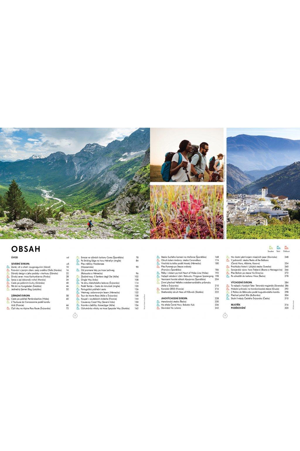4968 Úchvatné evropské trekingové trasy