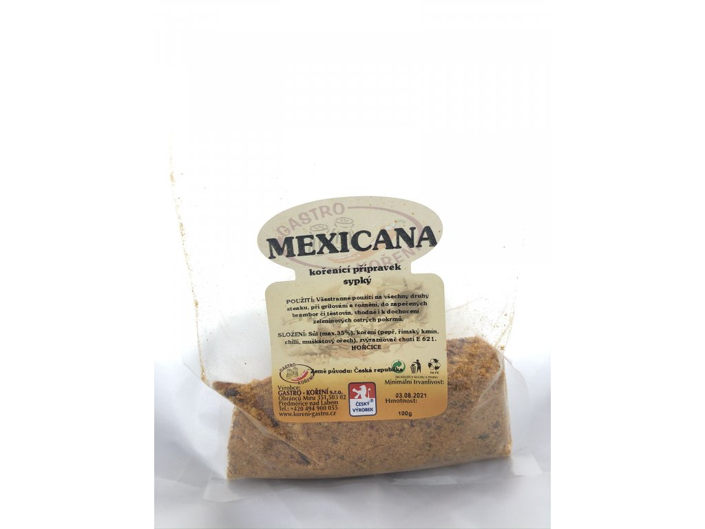 Mexicana gril 100g