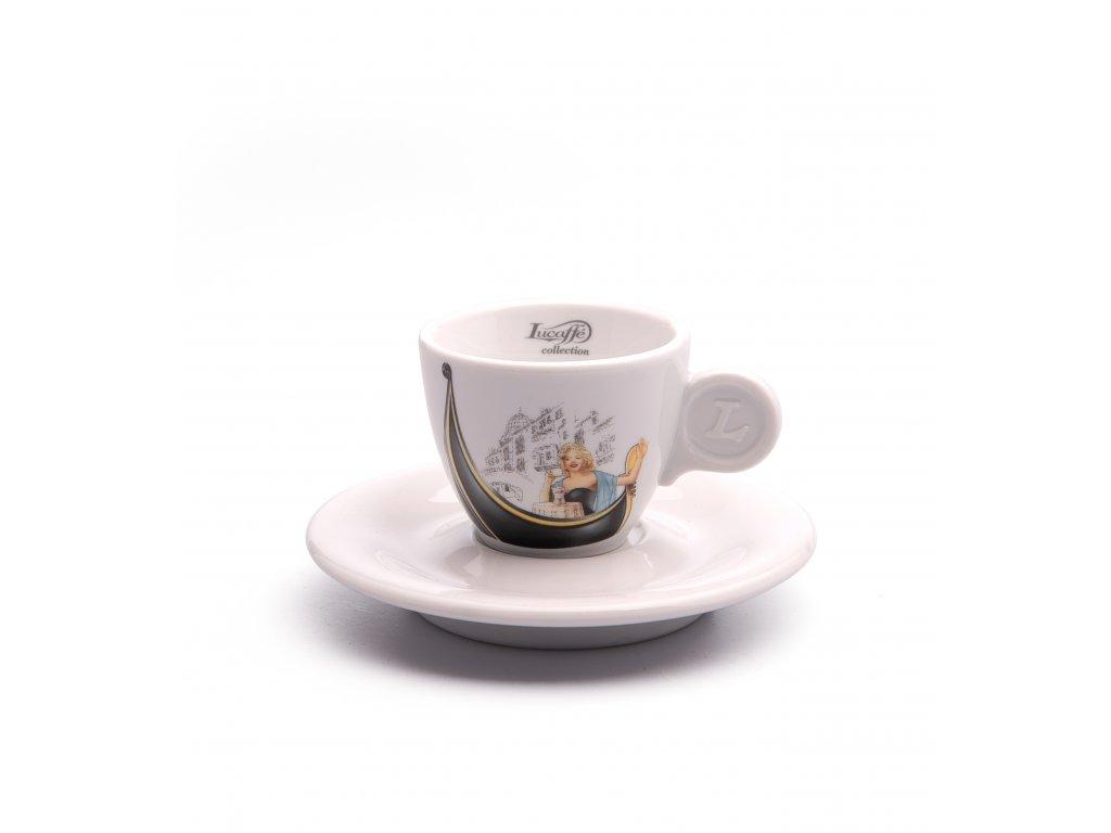 Šálka Lucaffé Exquisit espresso