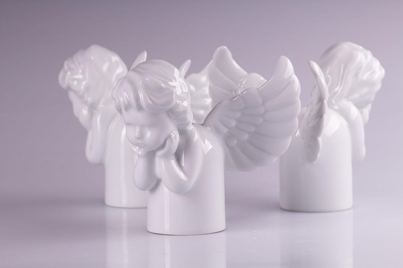 Porcelánová objímka Angel light