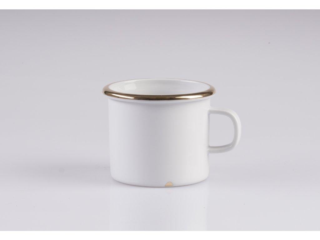 plecháček, porcelánový plecháček, hrnek, designový hrnek, originální hrnek, retro hrnek, retro plecháček, hrnek na kávu, bílé porcelánové hrnky, porcelánové hrnky na čaj, porcelánové hrnky, designové hrnky na kávu, hrnek na čaj, hrnky,designové hrnky, hrnky na kávu, hrnky na čaj, porcelánový hrnek, kávový hrnek, porcelán, český porcelán, luckavo, Lucie Tomis, zlato